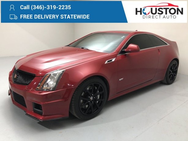 Used 2011 Cadillac CTS-V for sale in Houston TX.  We Finance!