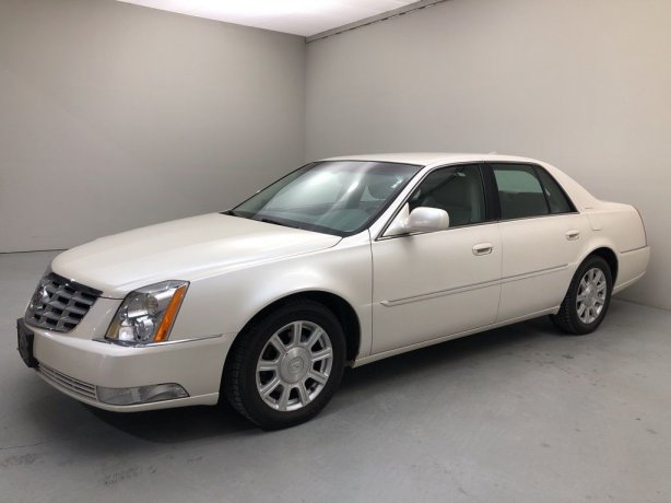 Used 2010 Cadillac DTS for sale in Houston TX.  We Finance!