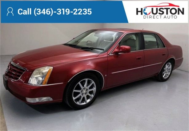 Used 2006 Cadillac DTS for sale in Houston TX.  We Finance!