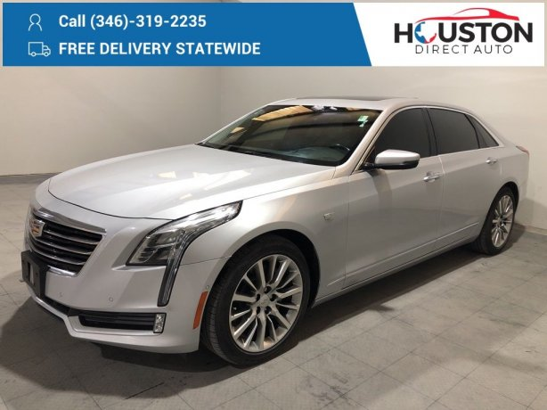 Used 2017 Cadillac CT6 for sale in Houston TX.  We Finance!