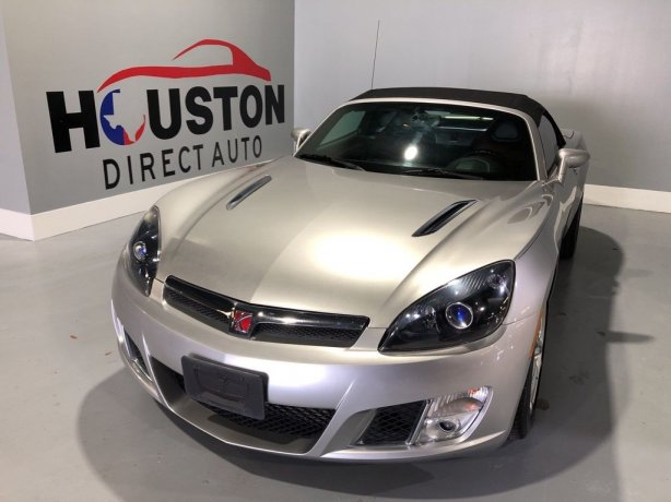 Used 2007 Saturn Sky for sale in Houston TX.  We Finance!