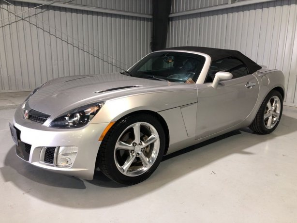 Used Saturn Sky for sale in Houston TX.  We Finance!