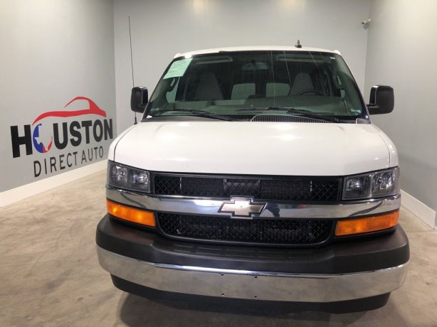 Used 2017 Chevrolet Express 3500 for sale in Houston TX.  We Finance!
