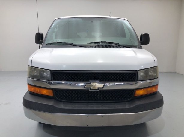 Used Chevrolet Express 2500 for sale in Houston TX.  We Finance!