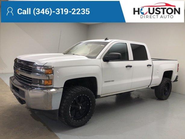 Used 2015 Chevrolet Silverado 2500HD for sale in Houston TX.  We Finance!