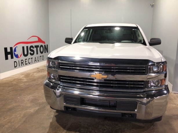Used 2018 Chevrolet Silverado 2500HD for sale in Houston TX.  We Finance!