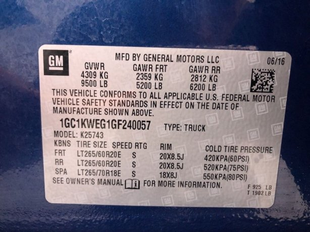 Chevrolet Silverado 2500HD near me