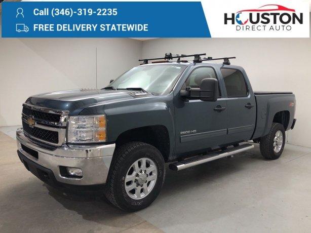 Used 2011 Chevrolet Silverado 2500HD for sale in Houston TX.  We Finance!