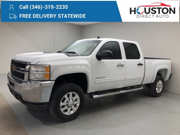 Used 2013 Chevrolet Silverado 2500HD for sale in Houston TX.  We Finance!