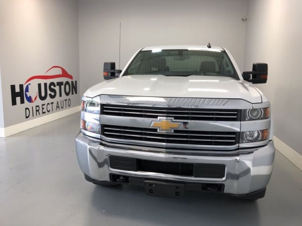 Used 2017 Chevrolet Silverado 2500HD for sale in Houston TX.  We Finance!