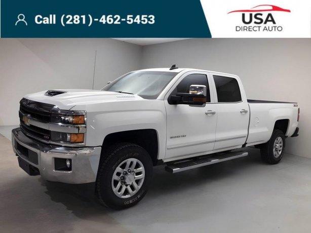 Used 2019 Chevrolet Silverado 3500HD for sale in Houston TX.  We Finance!