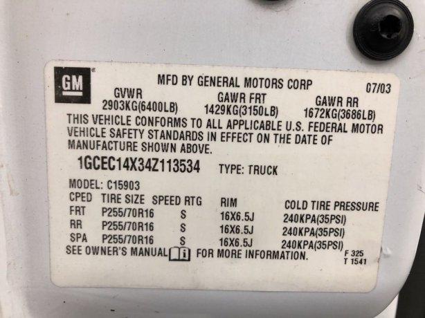 good 2004 Chevrolet Silverado 1500 for sale
