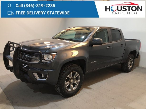 Used 2016 Chevrolet Colorado for sale in Houston TX.  We Finance!