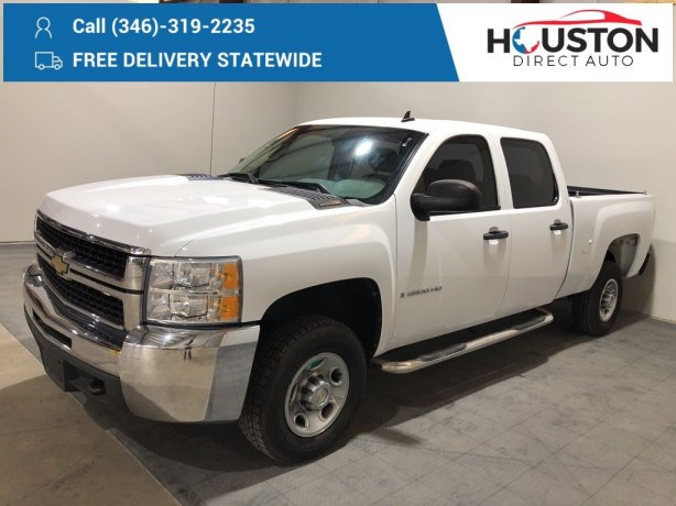 Used 2009 Chevrolet Silverado 2500HD for sale in Houston TX.  We Finance!