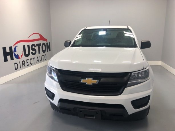 Used 2018 Chevrolet Colorado for sale in Houston TX.  We Finance!