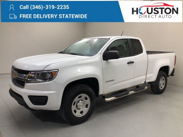 Used 2019 Chevrolet Colorado for sale in Houston TX.  We Finance!