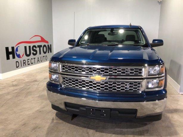 Used 2015 Chevrolet Silverado 1500 for sale in Houston TX.  We Finance!