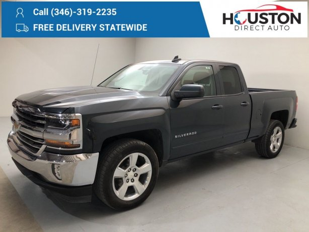Used 2017 Chevrolet Silverado 1500 for sale in Houston TX.  We Finance!