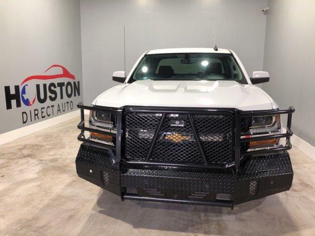 Used 2016 Chevrolet Silverado 1500 for sale in Houston TX.  We Finance!