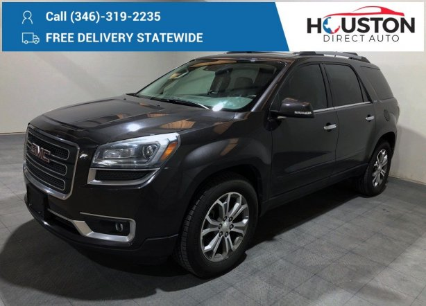 Used 2015 GMC Acadia for sale in Houston TX.  We Finance!