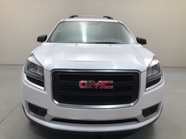 Used GMC Acadia for sale in Houston TX.  We Finance!