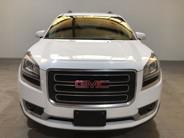 Used GMC Acadia Limited for sale in Houston TX.  We Finance!