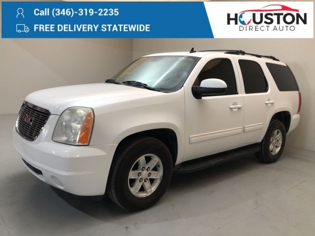 Used 2012 GMC Yukon for sale in Houston TX.  We Finance!