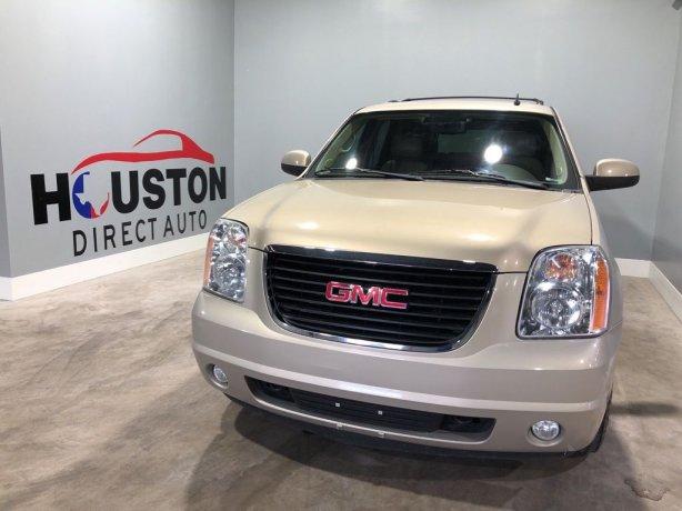 Used 2012 GMC Yukon for sale in Houston TX.  We Finance!