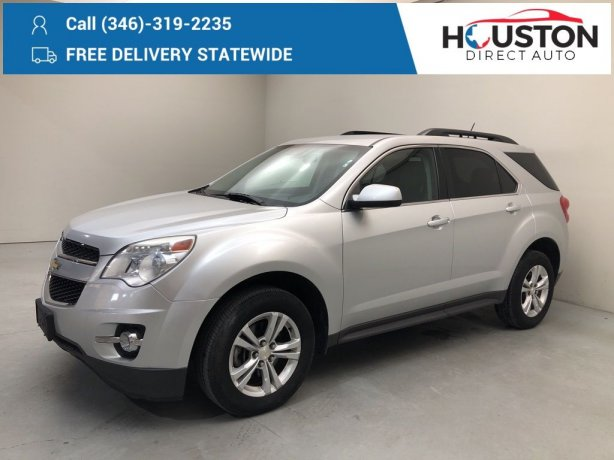 Used 2013 Chevrolet Equinox for sale in Houston TX.  We Finance!