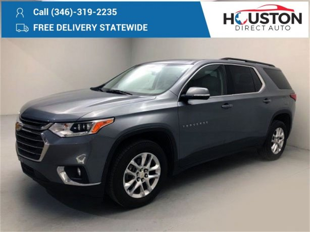 Used 2019 Chevrolet Traverse for sale in Houston TX.  We Finance!