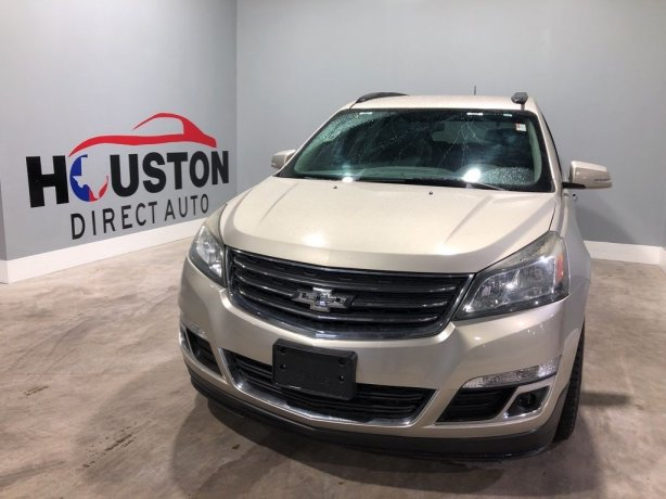 Used 2013 Chevrolet Traverse for sale in Houston TX.  We Finance!