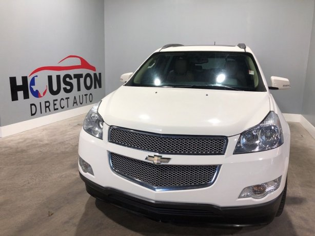 Used 2012 Chevrolet Traverse for sale in Houston TX.  We Finance!