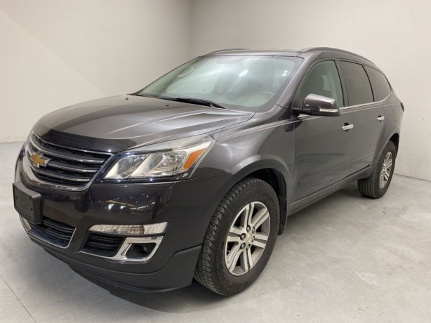 Used 2015 Chevrolet Traverse for sale in Houston TX.  We Finance!