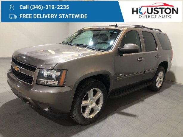 Used 2012 Chevrolet Tahoe for sale in Houston TX.  We Finance!