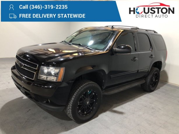 Used 2013 Chevrolet Tahoe for sale in Houston TX.  We Finance!
