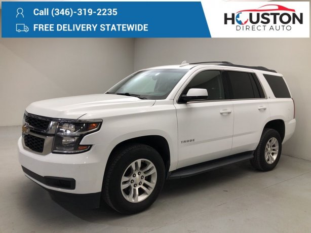 Used 2017 Chevrolet Tahoe for sale in Houston TX.  We Finance!