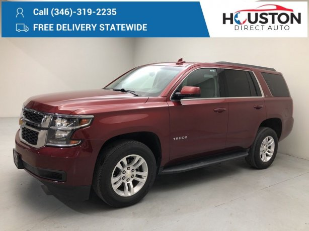 Used 2018 Chevrolet Tahoe for sale in Houston TX.  We Finance!