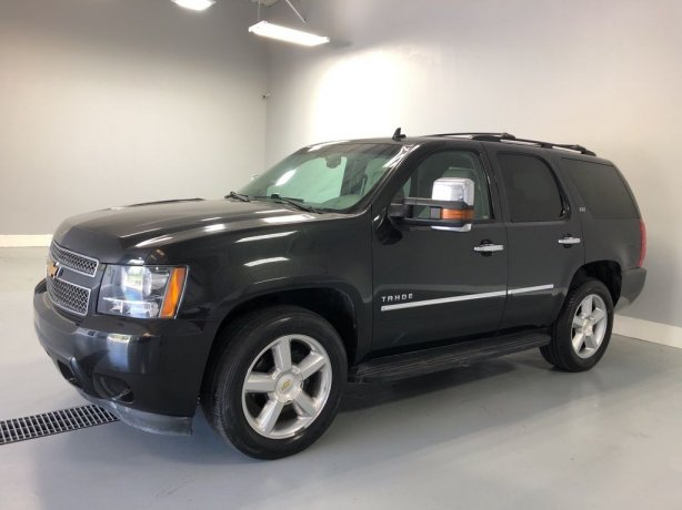 Used Chevrolet Tahoe for sale in Houston TX.  We Finance!