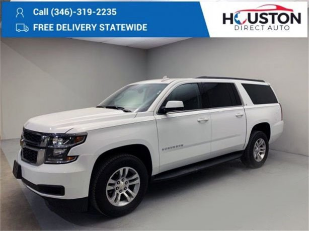 Used 2020 Chevrolet Suburban for sale in Houston TX.  We Finance!