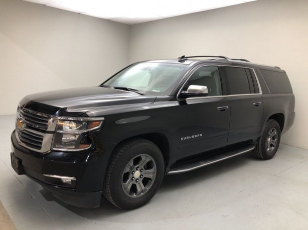 Used 2017 Chevrolet Suburban for sale in Houston TX.  We Finance!