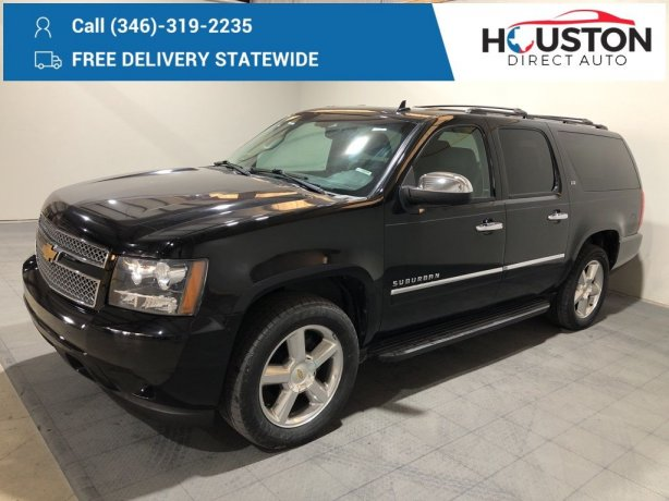 Used 2013 Chevrolet Suburban 1500 for sale in Houston TX.  We Finance!