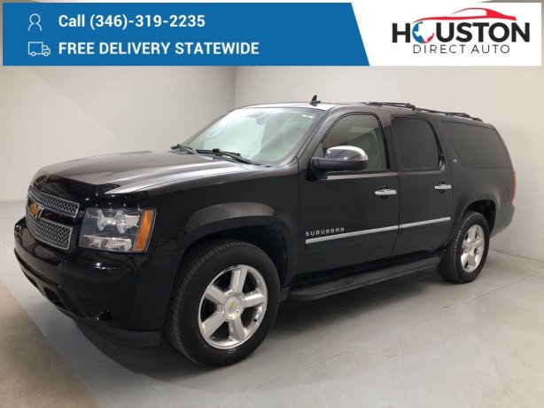 Used 2012 Chevrolet Suburban 1500 for sale in Houston TX.  We Finance!