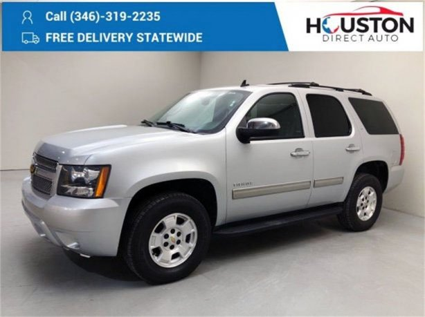 Used 2014 Chevrolet Tahoe for sale in Houston TX.  We Finance!