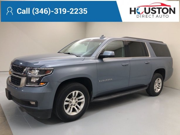 Used 2016 Chevrolet Suburban for sale in Houston TX.  We Finance!