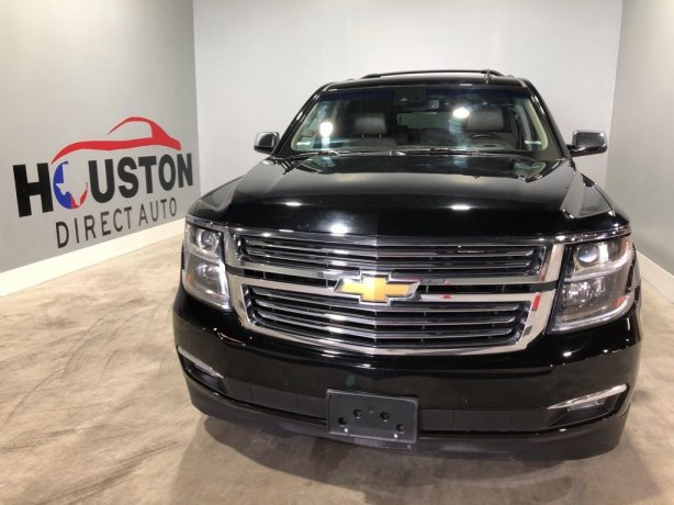 Used 2015 Chevrolet Suburban for sale in Houston TX.  We Finance!