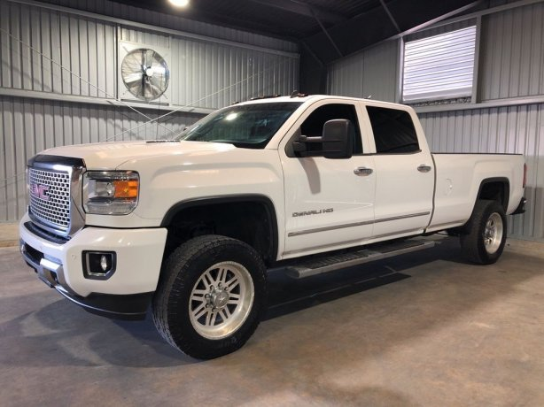 Used GMC Sierra 3500HD for sale in Houston TX.  We Finance!