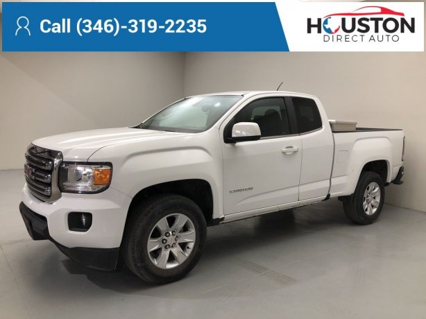 Used 2017 GMC Canyon for sale in Houston TX.  We Finance!