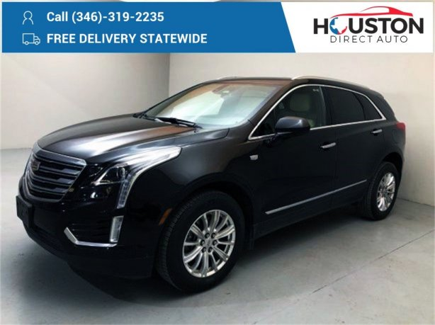 Used 2018 Cadillac XT5 for sale in Houston TX.  We Finance!
