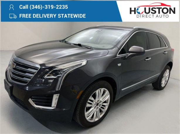 Used 2017 Cadillac XT5 for sale in Houston TX.  We Finance!
