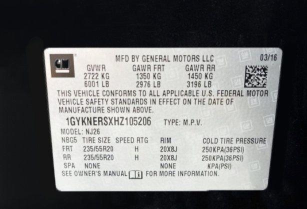 Cadillac XT5 2017 for sale